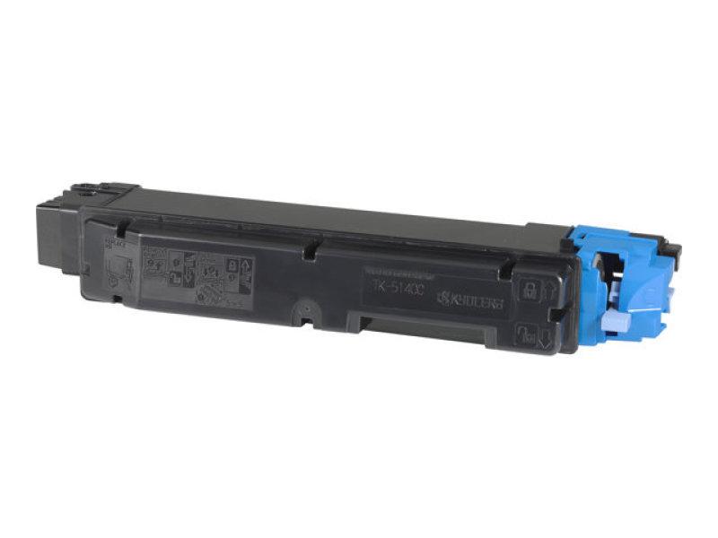 Kyocera Cyan TK-5140C Toner Cassette (5,000 Page Capacity)