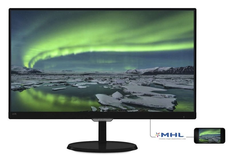 "Philips 237E7QDSB 23"" IPS Full HD Monitor"