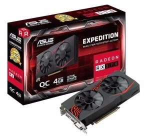 Asus Expedition Radeon RX 570 OC Edition 4GB Graphics Card