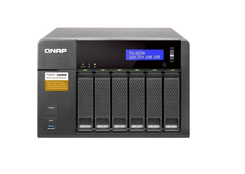 QNAP TS-653A-4G 60TB (6 x 10TB SGT-IW PRO) 6 Bay NAS with 4GB RAM