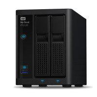 WD WDBBCL0000NBK-EESN 8TB (2 x 4TB WD RED) My Cloud PR2100 2 Bay NAS