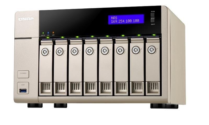 QNAP TVS-863+-16G 48TB (8 x 6TB SGT-IW PRO) 8 Bay NAS with 16GB RAM