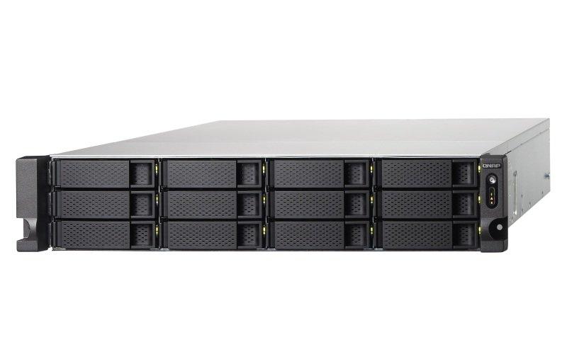 QNAP TS-1231XU-RP-4G 12 Bay NAS 2U Rack Enclosure with 4GB RAM
