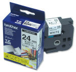 Brother TZe251 Laminated adhesive tape- black on white