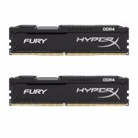 HyperX FURY Black 16GB 2666MHz DDR4 DIMM Memory Kit