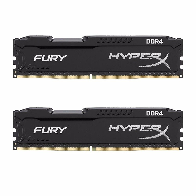 HyperX FURY Black 16GB 2666MHz DDR4 DIMM Memory Kit
