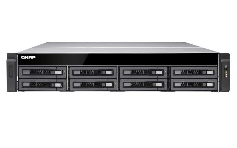 QNAP TS-EC880U-E3-4GE-R2 64TB (8 x 8TB SGT-IW PRO) 8 Bay with 4GB RAM