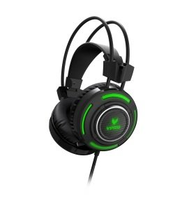 VPRO VH600 Gaming Virtual 7.1 Channel Headset Black