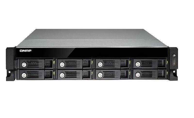 QNAP TS-853U-RP 64TB (8 x 8TB WD RED PRO) 8 Bay 2U Rack NAS