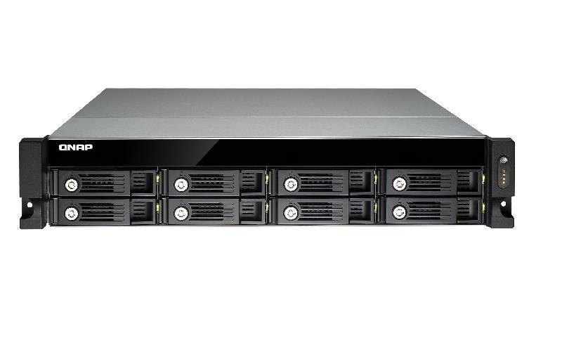 QNAP TVS-871U-RP-i5-8G 64TB (8x8TB WD RED PRO) 8 Bay 2U Rack with 8GB RAM