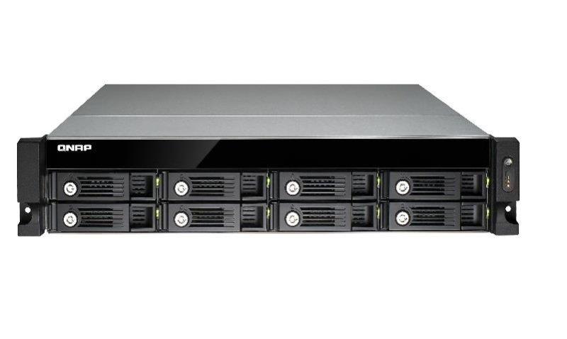 QNAP TS-853U 64TB (8 x 8TB WD RED PRO) 8 Bay 2U Rack NAS
