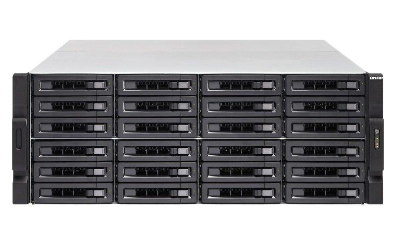 QNAP TS-EC2480U-E3-4GE-R2 240TB (24 x 10TB WD GOLD) 24 Bay 4U Rack w/ 4GB RAM