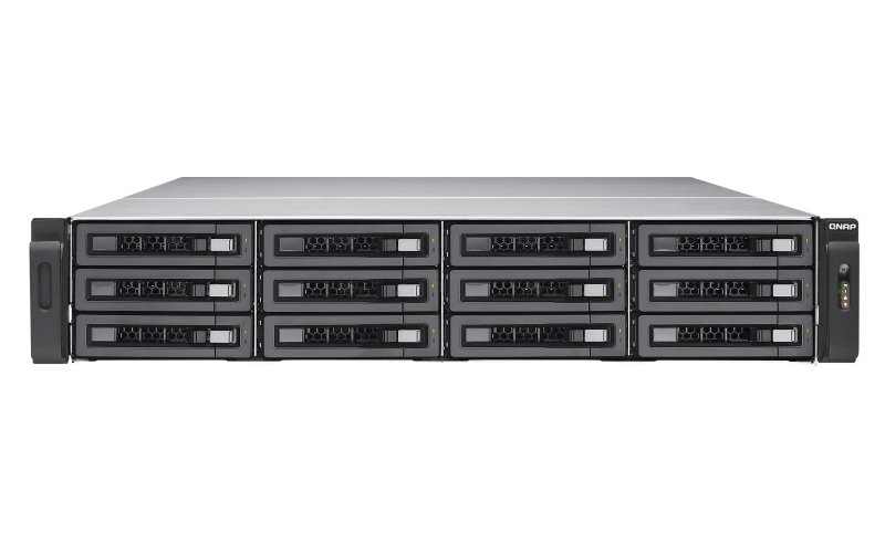 QNAP TS-EC1280U-E3-4GE-R2 96TB (12x8TB SGT-IW PRO) 12 Bay 3U Rack with 4GB RAM