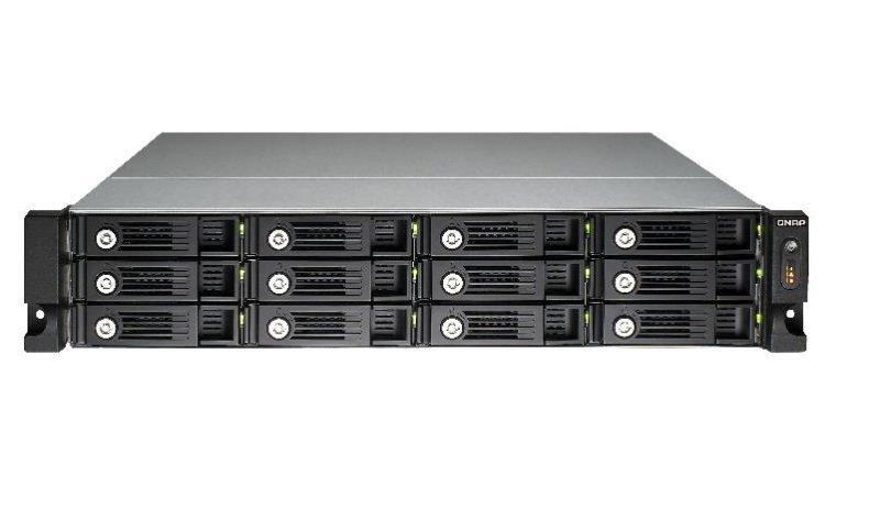 QNAP TS-1253U-RP 96TB (12 x 8TB SGT-IW PRO) 12 Bay 3U Rack