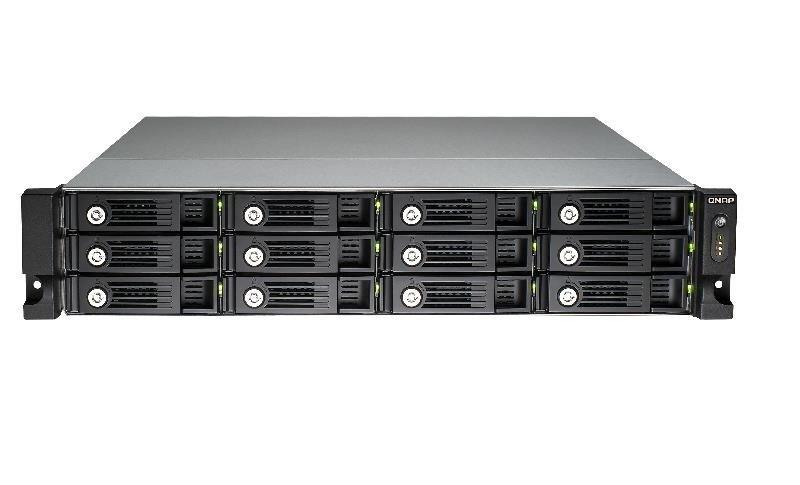 QNAP TVS-1271U-RP-I5-16G 96TB (12x8TB SGT-IW PRO) 12 Bay with 16GB RAM