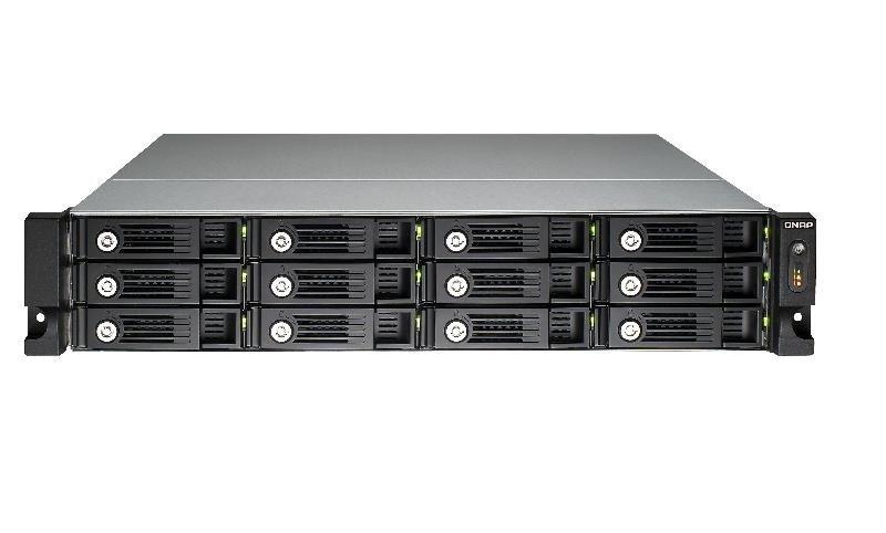QNAP TS-1253U-RP 96TB (12 x 8TB WD RED PRO) 12 Bay 2U Rack
