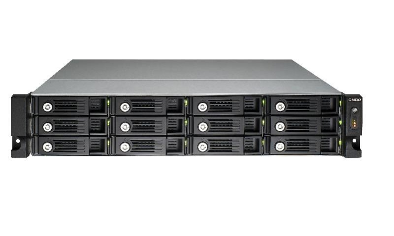 QNAP TS-1253U 96TB (12 x 8TB WD RED PRO) 12 Bay 2U Rack