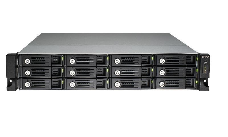 QNAP TVS-1271U-RP-I7-32G 96TB (12x8TB WD RED PRO) 12 Bay with 32GB RAM