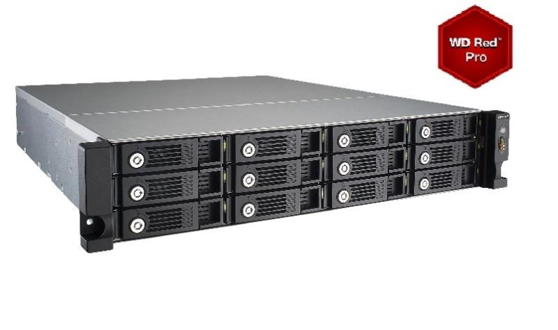 QNAP TVS-1271U-RP-i5 48TB (12 x 4TB WD RED PRO) 12 Bay with 16GB RAM