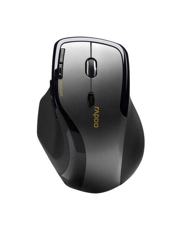 Rapoo 7600 Plus 2.4GHz Wireless Optical Mouse Grey
