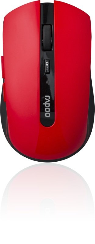 Rapoo 7200P 5GHz Wireless Optical Mouse Red
