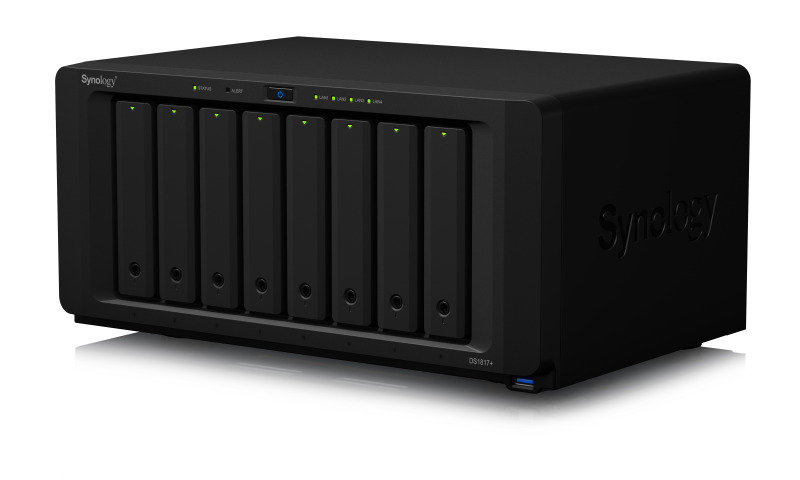Synology DS1817+ (8GB) 64TB (8 x 8TB WD RED) 8 Bay NAS with 8GB RAM