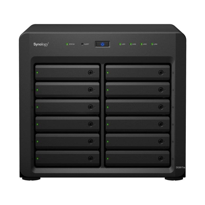 Synology DS3617XS 48TB (12 x 4TB WD RED PRO) 12 Bay Desktop NAS