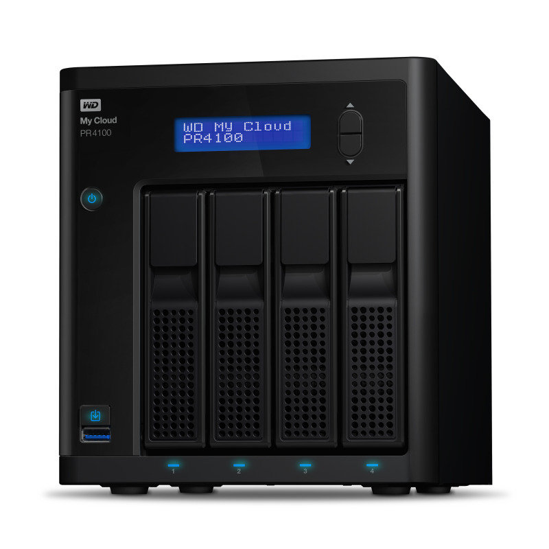 WD 4TB (4 x 1TB WD RED) My Cloud PR4100 4 Bay NAS