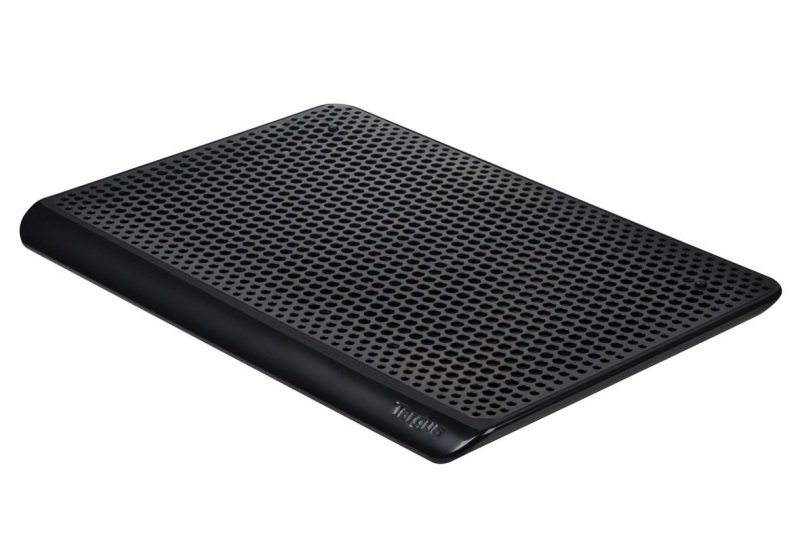 Targus Ultraslim Laptop Chill Mat / Cooling Pad, Single Fan - Black