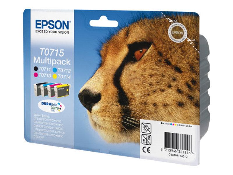Epson T0715 Multi Ink Cartridge Pack