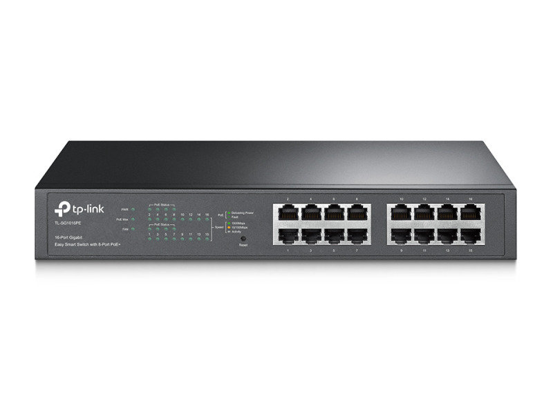 TP-Link TL-SG1016PE 16-Port Gigabit Easy Smart PoE Switch