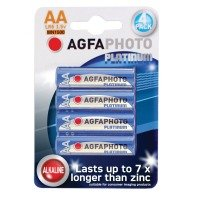 AA Alkaline Batteries 4PK