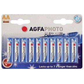 Agfa Photo Digital Alkaline AA Battery - Pack of 10