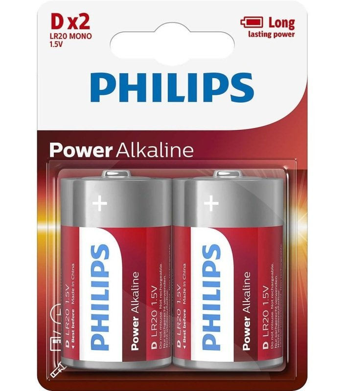 Image of PHILR20 D Battery PK2