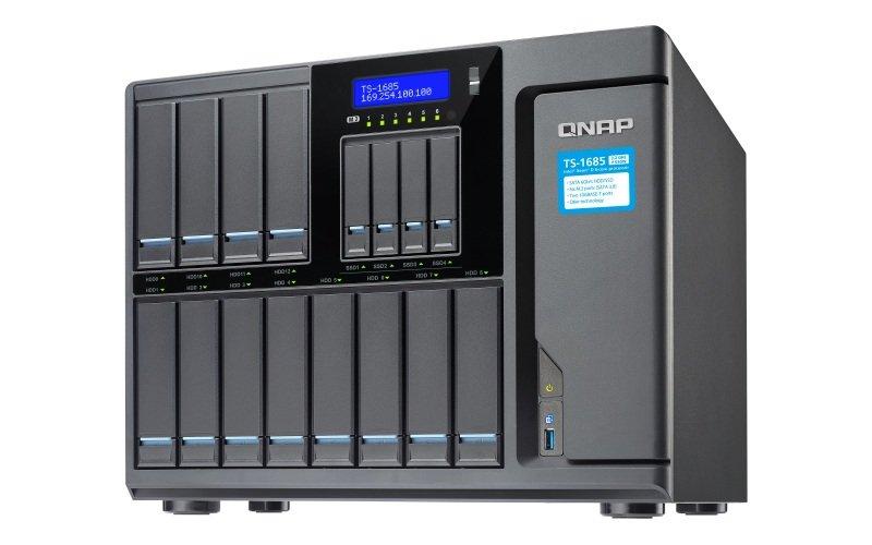 QNAP TS-1685-D1521-32G-550W 16 Bay Desktop NAS Enclosure with 32GB RAM
