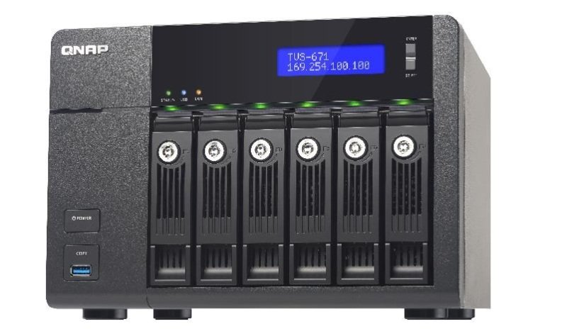 QNAP TVS-671-I5-8G 48TB (6 x 8TB SGT-IW) 6 Bay NAS with 8GB RAM