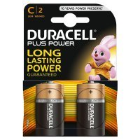Duracell Plus MN1400 - Battery 2 x C type Alkaline