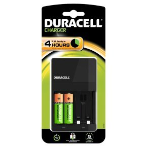 Duracell Value AA Charger - C/W 2AA batteries