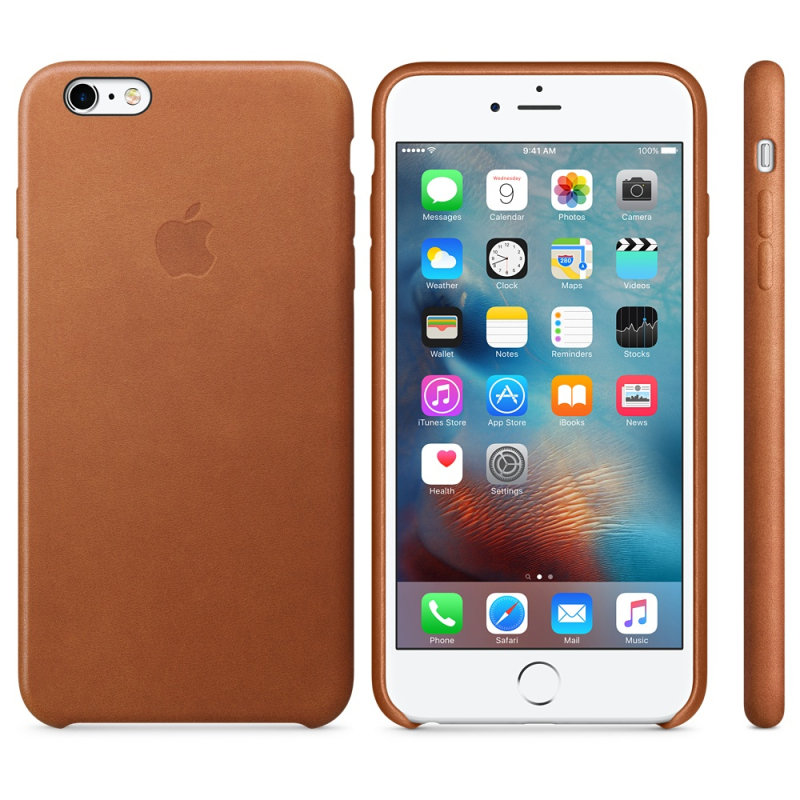 Apple iPhone 6s Plus Leather Case Saddle Brown cheapest retail price