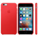 Apple iPhone 6s Silicone Case -RED