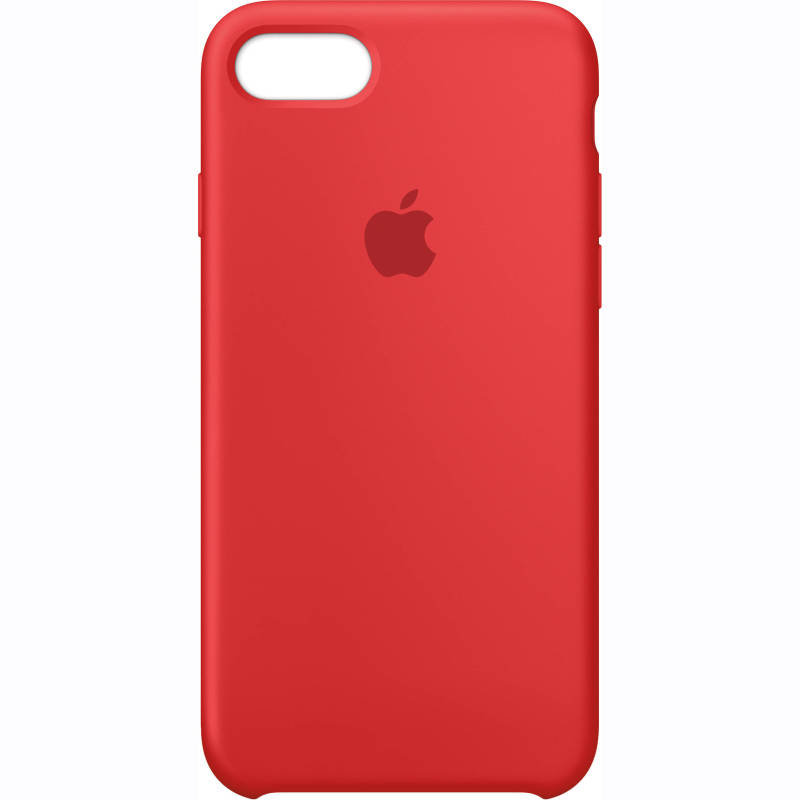 Apple iPhone 7 Silicone Case - (PRODUCT)RED