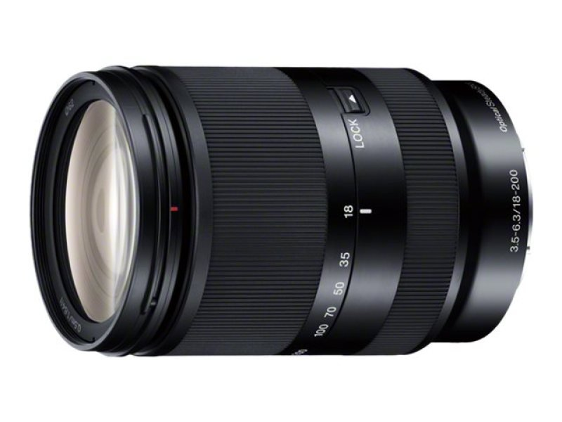 Image of Sony SEL18200LE - Zoom lens - 18 mm - 200 mm - f/3.5-5.6 OSS - Sony E-mount - for α5100 ILCE-5100, ILCE-5100L, ILCE-5100Y