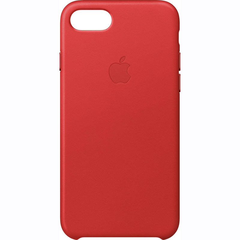 Apple iPhone 7 Leather Case - (PRODUCT)RED