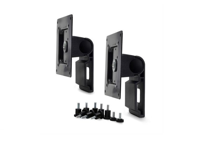 Image of Dual Monitor Tilt Pivot Kit - Black