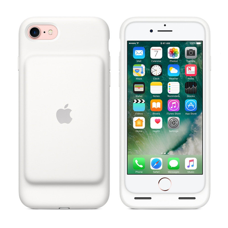 Apple iPhone 7 Smart Battery Case - White cheapest retail price