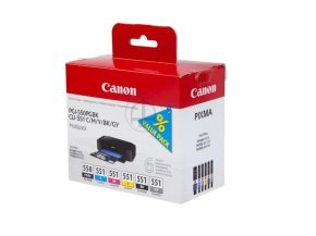 Canon 6 Pack Colour Ink