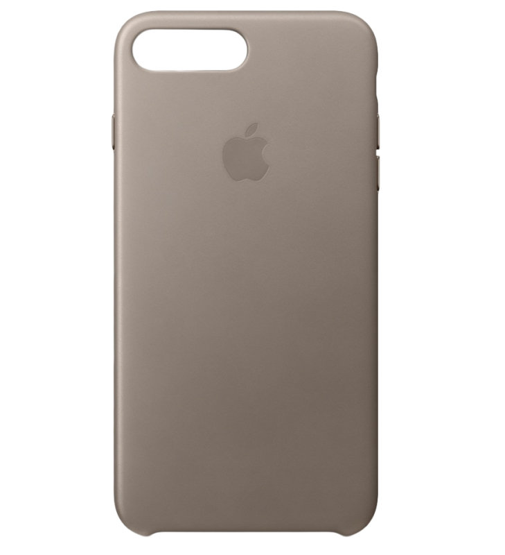 Apple iPhone 7 Plus Leather Case - Taupe
