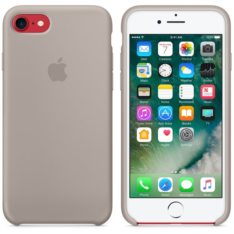 Apple iPhone 7 Silicone Case - Pebble