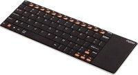 Rapoo E2700 2.4g W/l Keyboard Touchpad Black