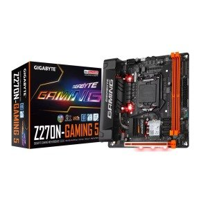 Gigabyte GA-Z270N-Gaming 5 Intel Z270 Socket 1151 mITX Motherboard